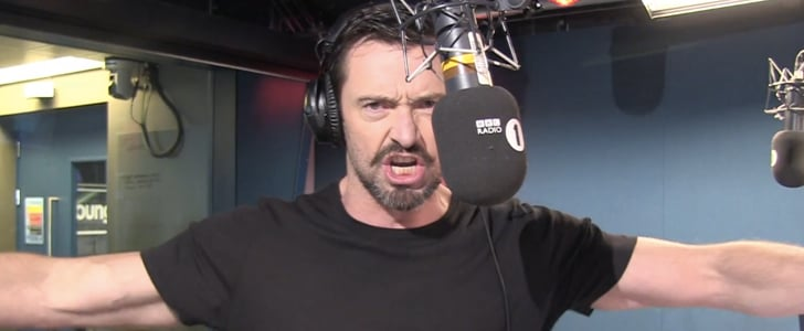 Hugh Jackman Sings Wolverine and Les Miserables Parody