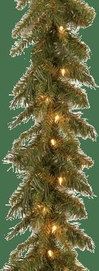 National Tree Company 9-Foot Pre-Lit Tiffany Garland