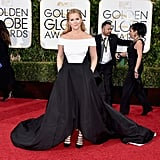 Amy Schumer at Golden Globe Awards 2016