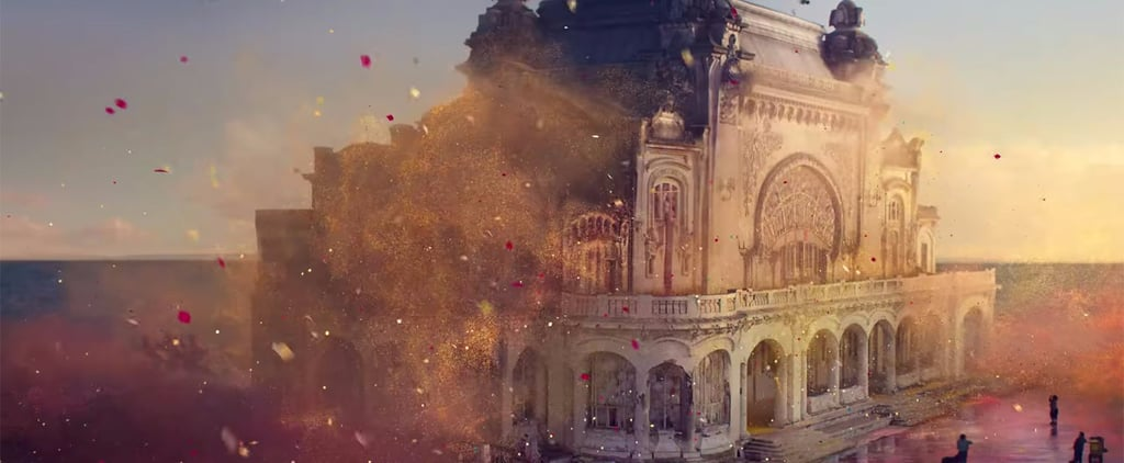 Sony Commercial With Exploding Glitter Balloons