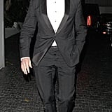 Hugh Jackman went out in his tuxedo in LA.