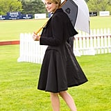 Jessica Stam at Prince Harry's Sentebale Royal Salute Polo Cup in Greenwich, CT. Source: Joe Schildhorn/BFAnyc.com