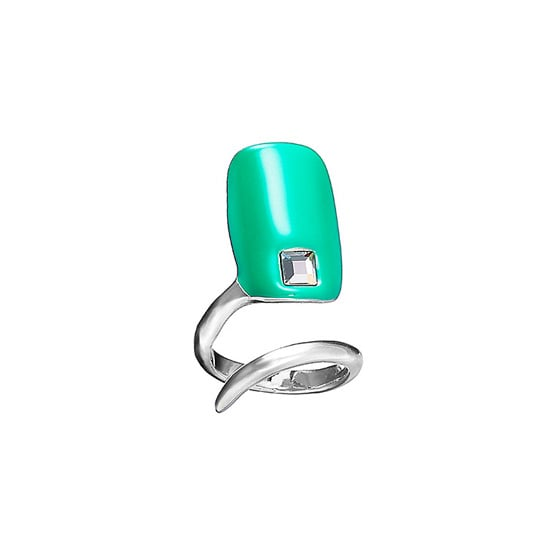 Turn any manicure into an on-trend statement with the Sephora + Pantone Emerald Tip Nail Ring ($22). Just slip the ring on any finger for a dose of Pantone's color of the year: emerald.