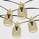 Outdoor Pineapple LED Solar String Lights