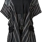 Sacai Striped Shirt Dress