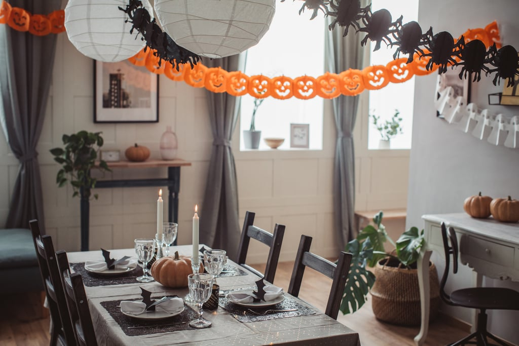 Halloween Lunch Zoom Background