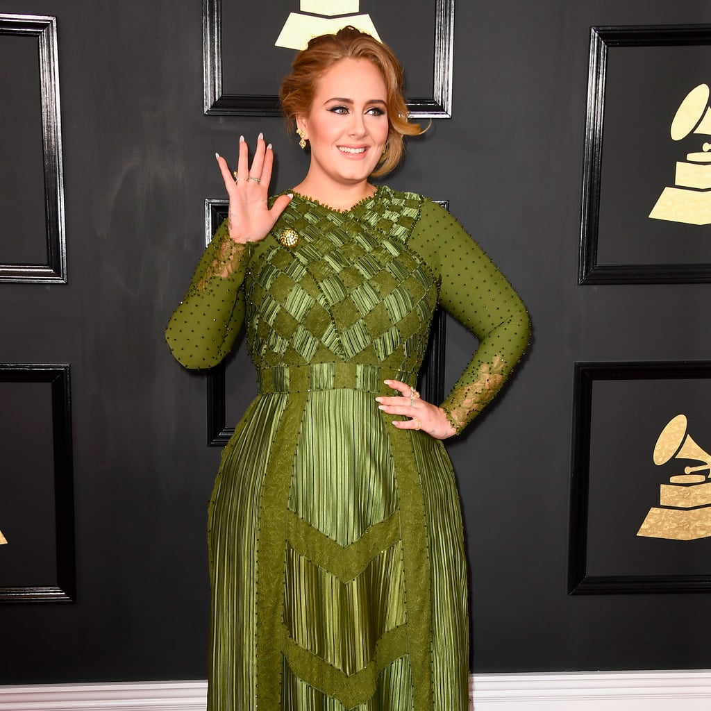 Adele's Givenchy Dress at 2017 Grammys