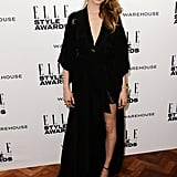 How do you know the Elle Style Awards was an event you wanted to be at? It-Brit Cara Delevingne made an appearance, pulling on a draped black dress, patent black shoes and a Mulberry bag.