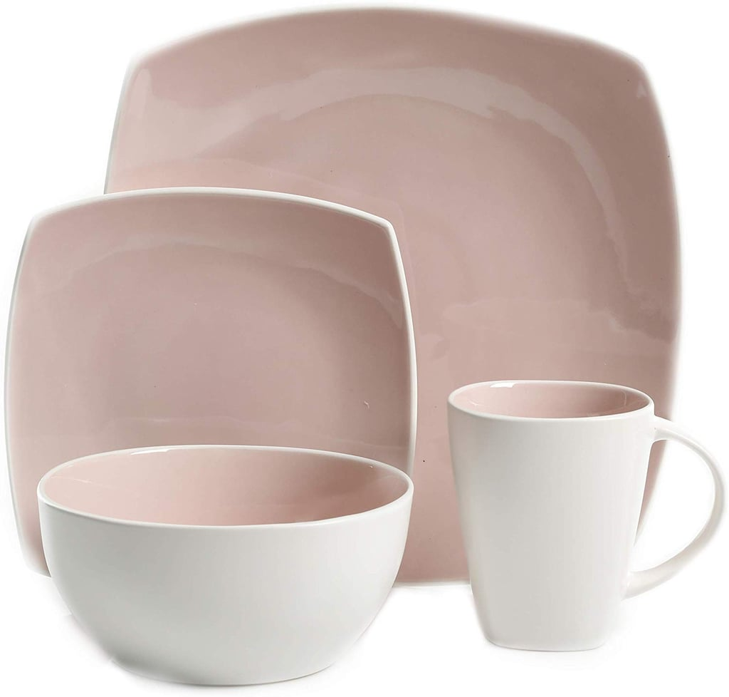 Gibson Elite Soho Lounge Bright Blush Dinnerware Set