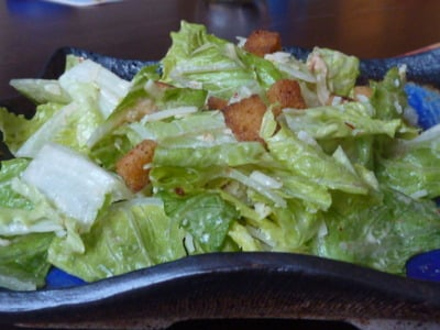 A Caesar Salad Dinner