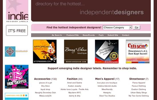 Fab Site: IndieDesignerLabels.com