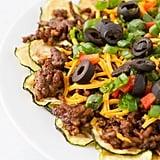 Keto: Zucchini Nachos