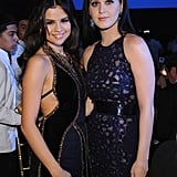 Pretty songbirds Selena Gomez and Katy Perry stuck together at the 2012 UNICEF Snowflake Ball in New York City on November 27.