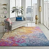 Nourison  Passion Modern Abstract Colourful Sunburst Area Rug