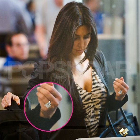 Pictures of Kim Kardashian's 20.5-Carat Diamond Ring
