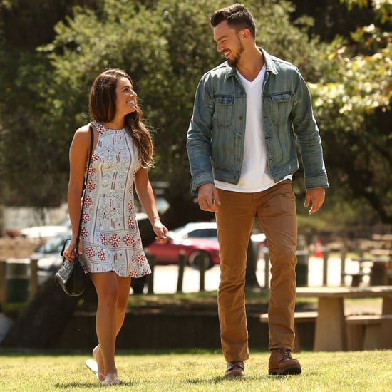 Lea Michele With Boyfriend Matthew Paetz