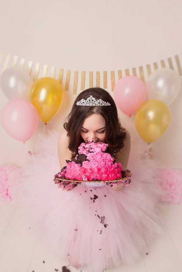 Adult Cake Smash Birthday Photos Popsugar Family Photo 4