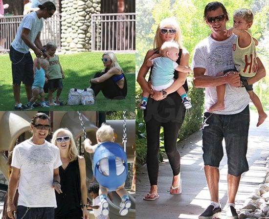 Photos of Gwen, Gavin, Kingston, Zuma