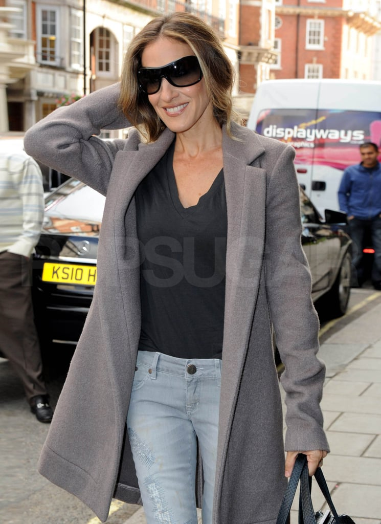 Sarah Jessica Parker walks London.