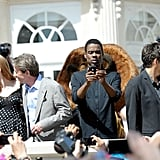 Jessica Chastain, Martin Short, Chris Rock, and Ben Stiller linked up for the Madagascar 3 photocall at the Cannes Film Festival.