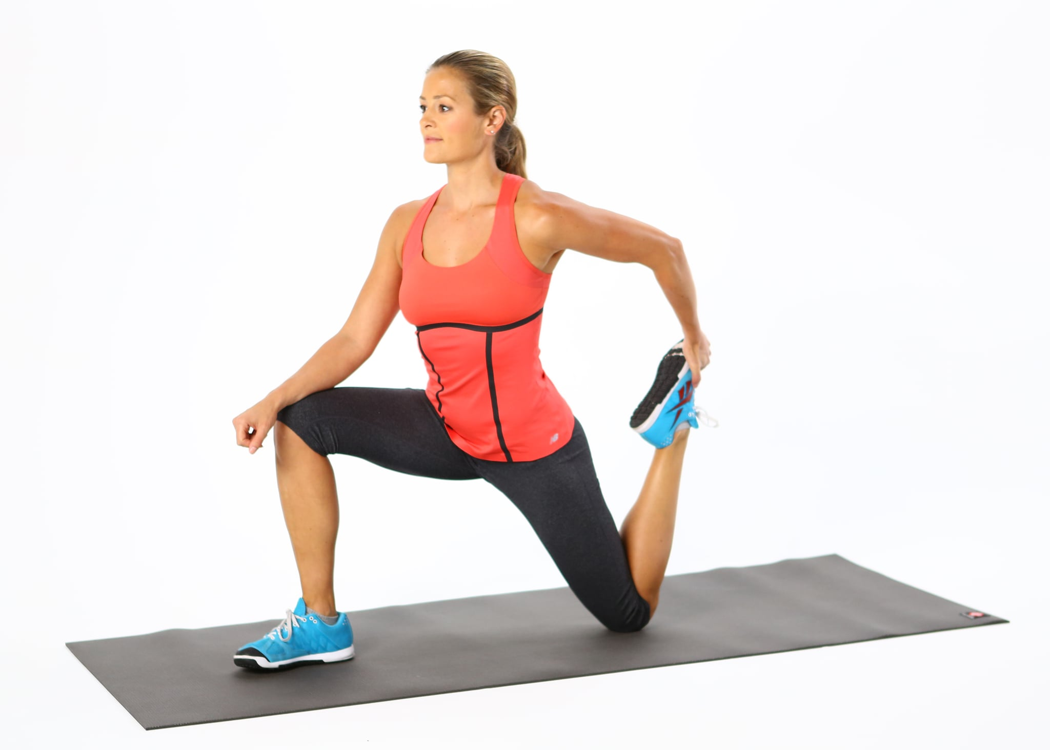 hip flexor lunge stretch exercise