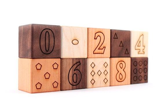 10-piece block set