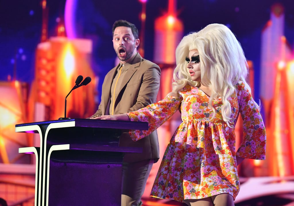 Nick Kroll and Trixie Mattel at the 2019 MTV Movie and TV Awards