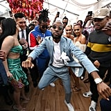 Guests Dancing at the 2020 Roc Nation Brunch in LA