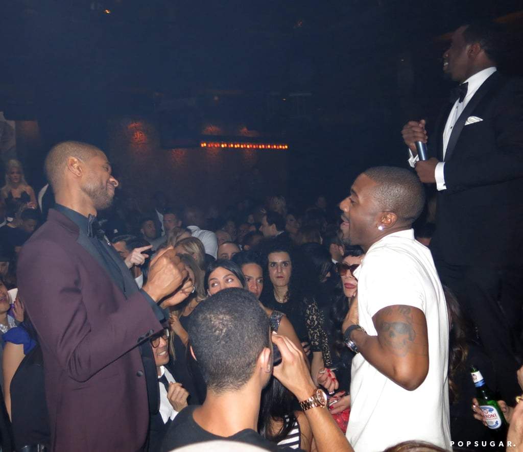 Oh, wait — there's Usher and Diddy, too!