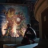 Iron Man Murals
