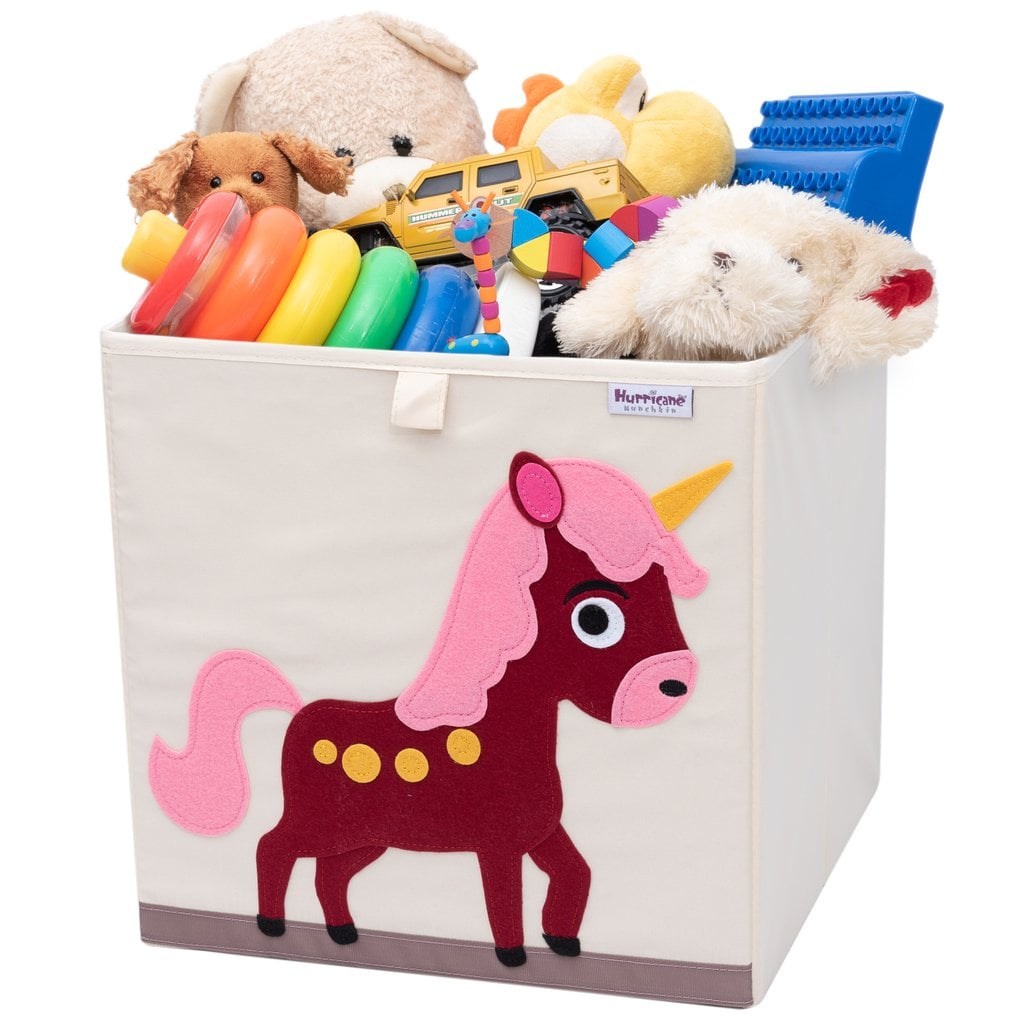 For 2-Year-Olds: Unicorn Toy Storage Box