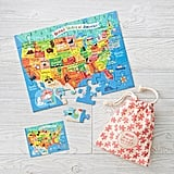 Travel USA Map Puzzle