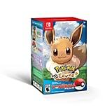 Pokémon Let's Go Eevee! With Pokéball Plus Controller