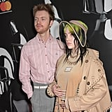 Billie Eilish and Finneas O'Connell at the 2020 BRIT Awards