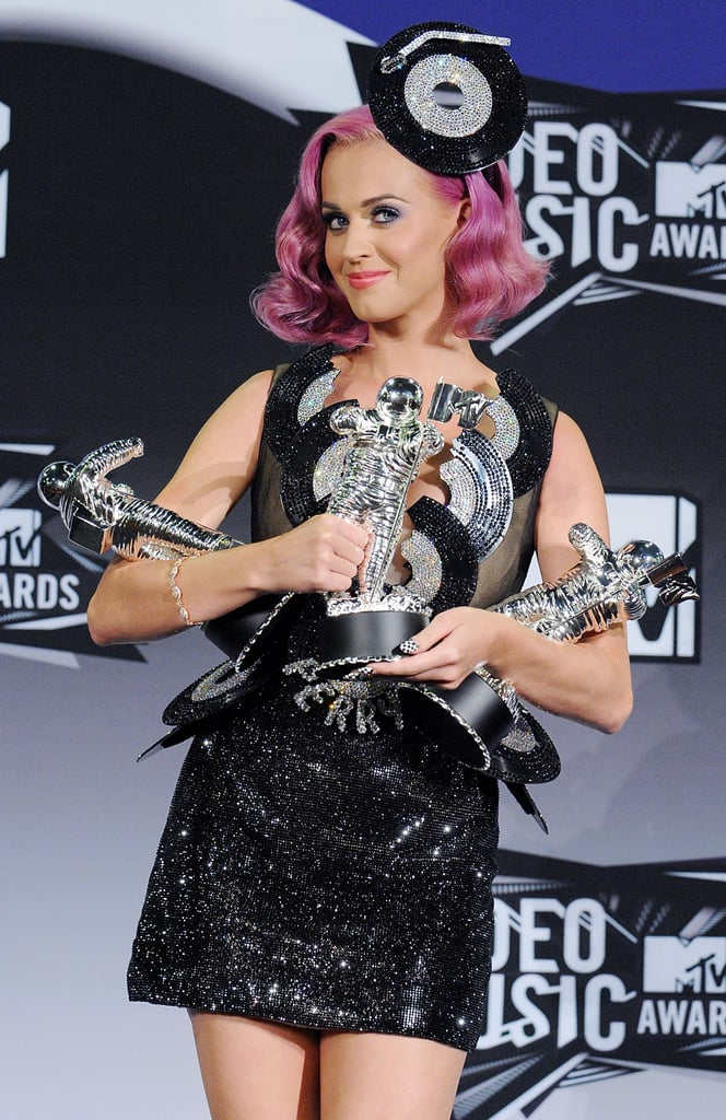 2011: Katy Earned Her First Moonman