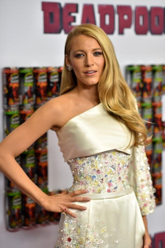 Blake Lively's Dress at Deadpool Event