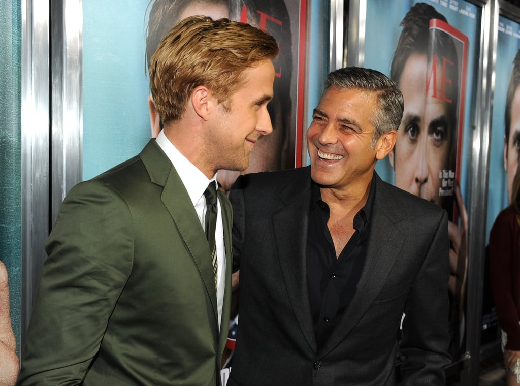 George and Ryan share leading man duties in The Ides of March.