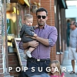 Ben Affleck Out in LA With Baby Samuel