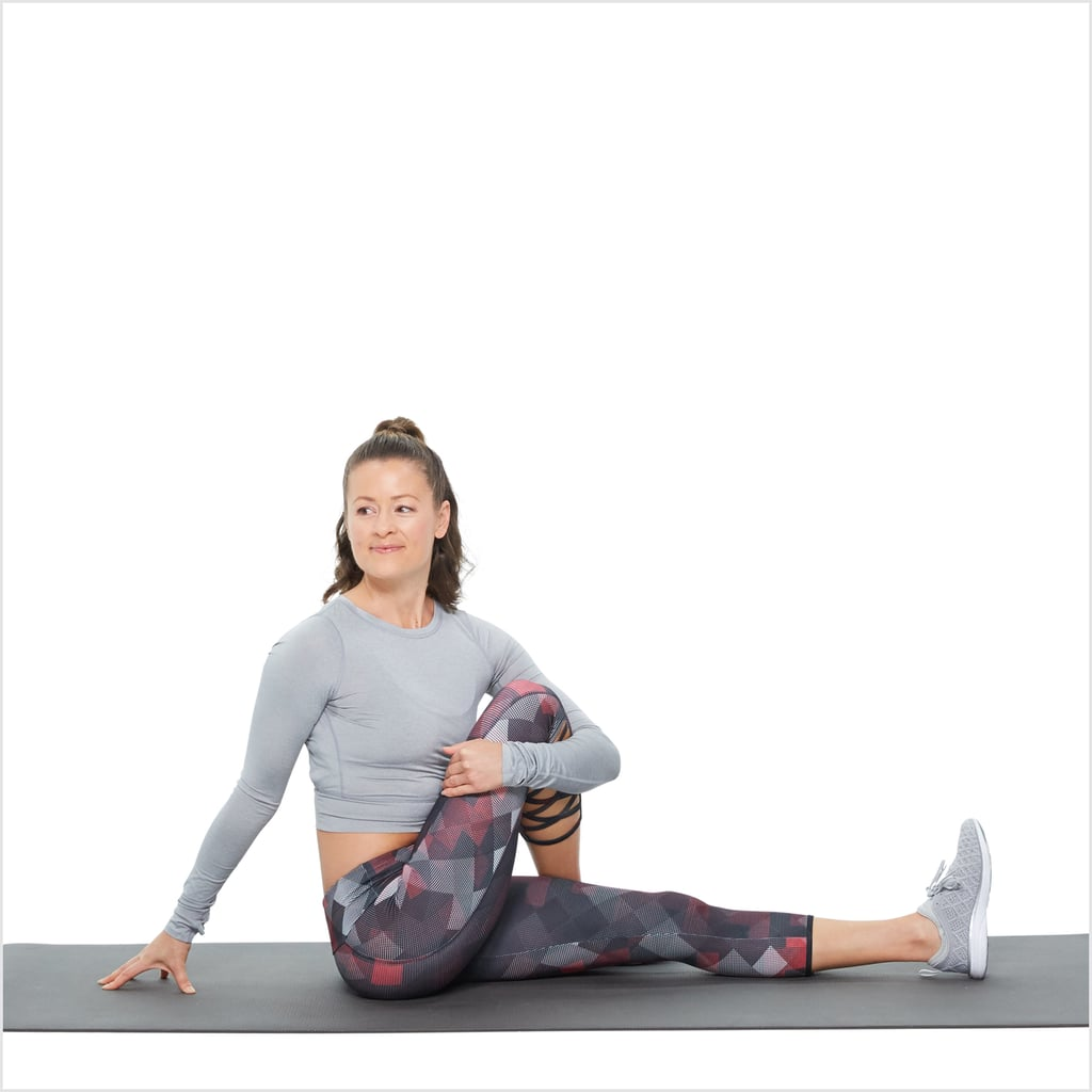 Glutes: Seated Twist