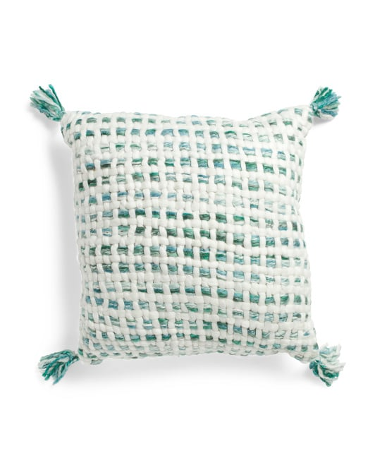Made in India Chunky Woven Pillow