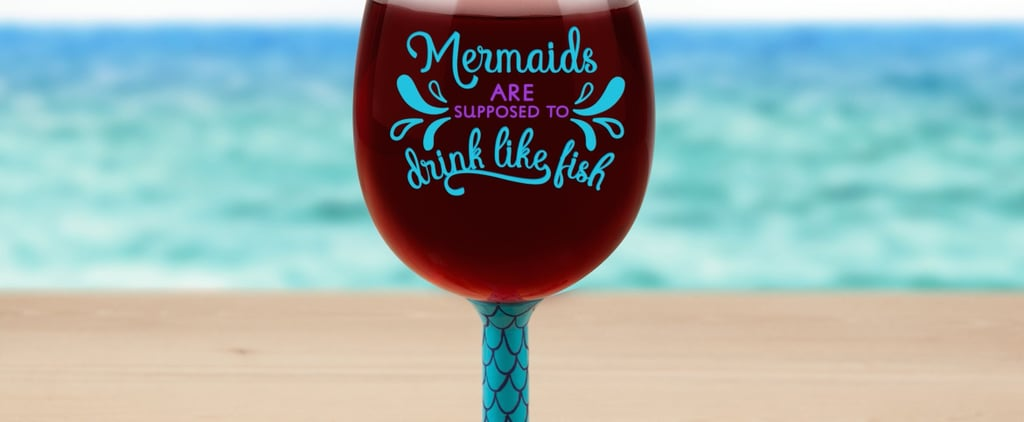 Giant Mermaid Wine Glass