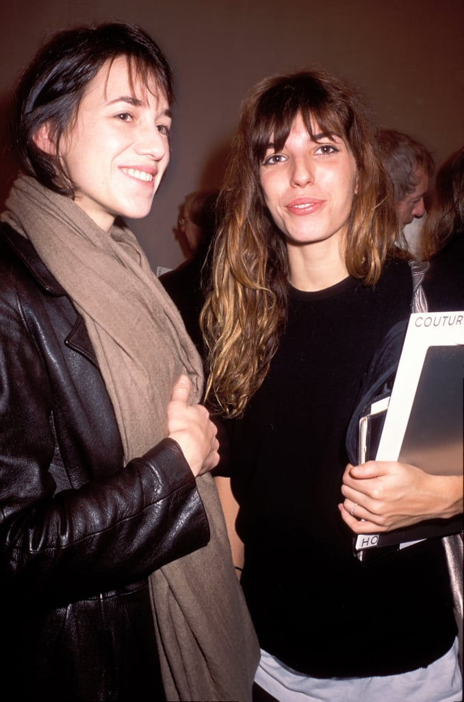 charlotte gainsbourg and lou doillon celebrities with their siblings pictures popsugar. Black Bedroom Furniture Sets. Home Design Ideas