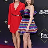 See Joey King's Rainbow Dress at the People's Choice Awards