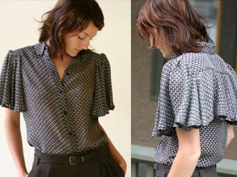 Karen Walker Cape Sleeve Shirt: Love It or Hate It?