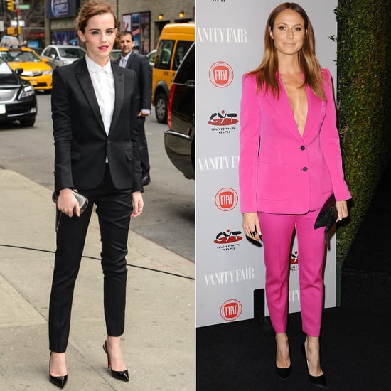 Give Your Cocktail Dress the Night Off, Try a Trouser Suit Instead