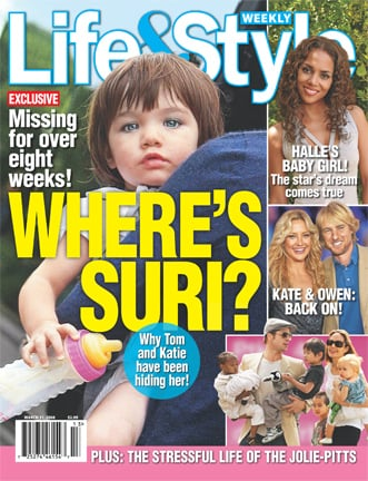 Are You Curious About Suri's Whereabouts?