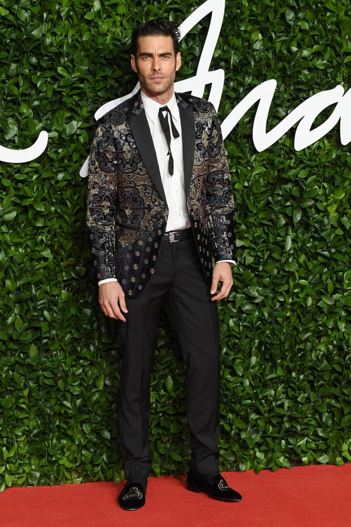 Jon Kortajarena at the British Fashion Awards 2019