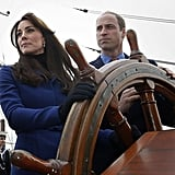 When Will and Kate Looked Like They Were Steering a Pirate Ship
