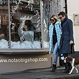 Kate Moss and Jamie Hince shopped around together in London.