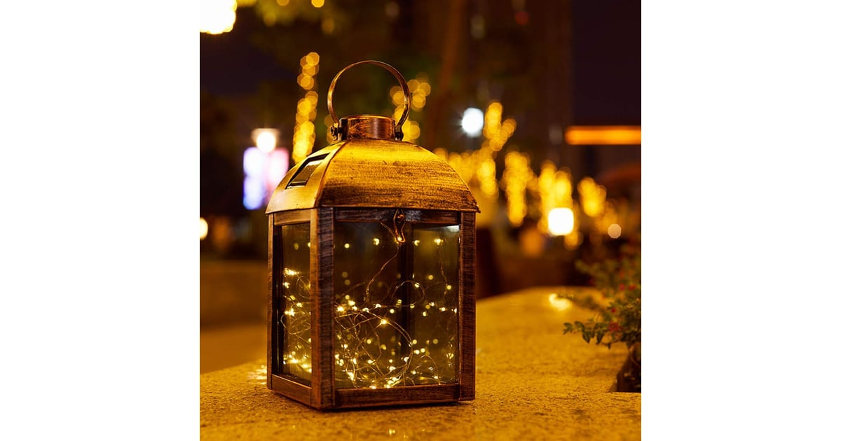 Solar Hanging Outdoor Christmas Lantern The North Pole Has Competition Amazon S Outdoor Holiday Decor Is Worthy Of A Winter Wonderland Popsugar Home Photo 21